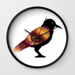 Mothcrow Wall Clock
