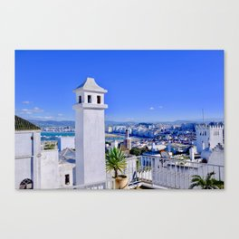 A View of Tangier Canvas Print