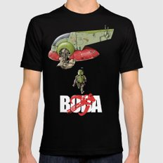 BobAkira  Black Mens Fitted Tee X-LARGE