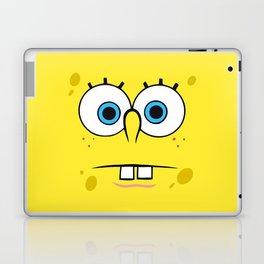Spongebob Surprised Face Laptop & iPad Skin