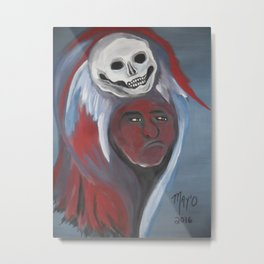 Chief Scary Crow 2016 Metal Print