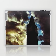 Big Ben up in the clouds Laptop & iPad Skin