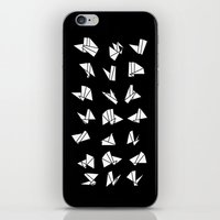 origami iPhone & iPod Skins featuring origami by spinL