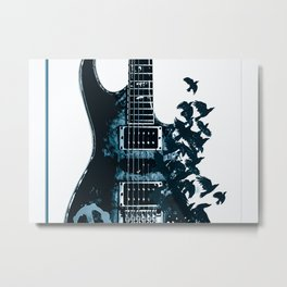 Guitar Limited Edition Selling Out Fast Metal Print