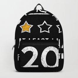 Graffiti Saying 2020 Backpack