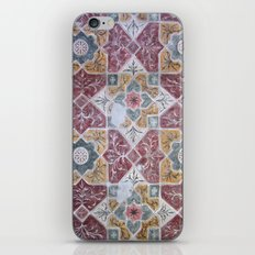 Geometric Wall Pattern iPhone & iPod Skin