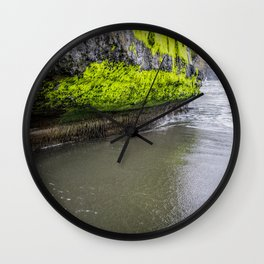 Mystical beach - vancouver island Wall Clock