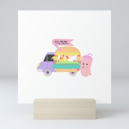 Fries with that shake Mini Art Print