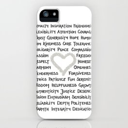 What is Love? iPhone Case