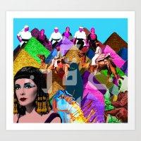 arab Art Prints featuring Arab world by Bothayna Al Zaman