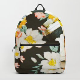 Floral Vintage Camera (Color) Backpack