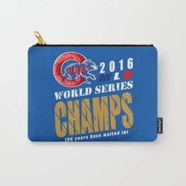 World Series Champs 2016 : Cubs Carry-All Pouch