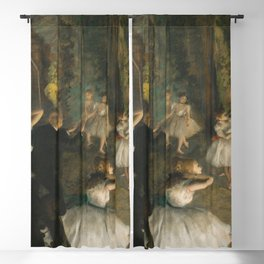 Edgar Degas - The Rehearsal of the Ballet Onstage Blackout Curtain
