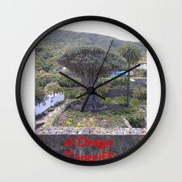 el Drago Teneriffa  (A7 B0101) Wall Clock