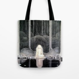 She is Looking For Her Heart By John Bauer Tote Bag