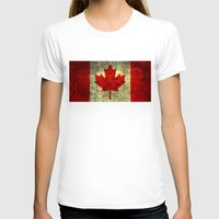 canada T-shirts featuring Oh Canada! by Bruce Stanfield