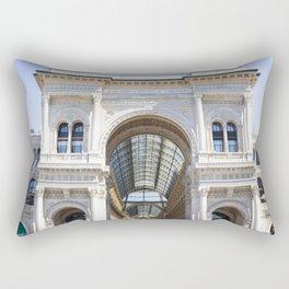 Galleria Vittorio Emanuele II Rectangular Pillow