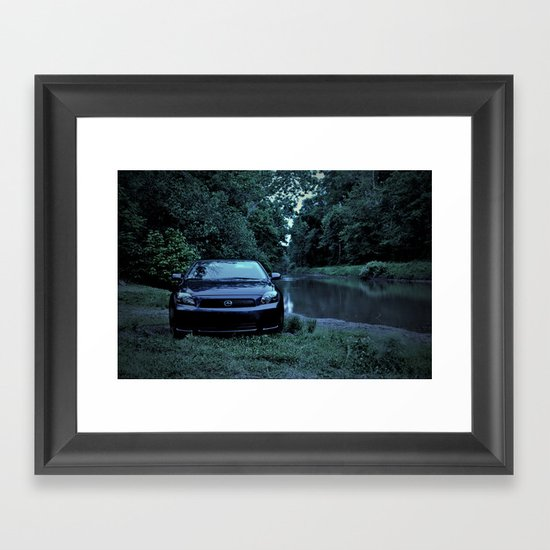 A Natural Sighting  Framed Art Print