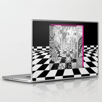 jared leto Laptop & iPad Skins featuring Jared by La La Land Studio