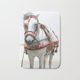 Decorated Horse of Andalusia Bath Mat
