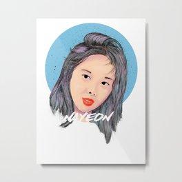 Nayeon Metal Print