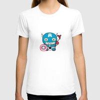 avenger T-shirts featuring Littlest Avenger by OneWeirdDude