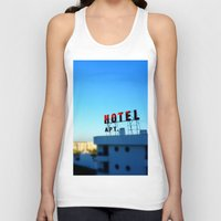 budapest hotel Tank Tops featuring Hotel by Elliott Kemp Photography