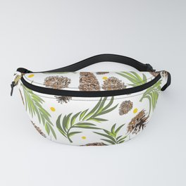 #Christmas #Pattern #Pine #Snow 13 Fanny Pack
