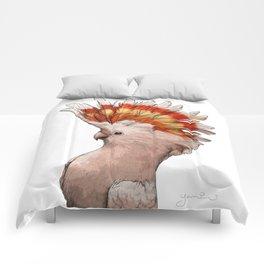 Pink Cockatoo Comforters