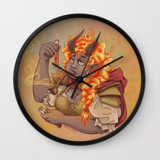The Alchemist Wall Clock