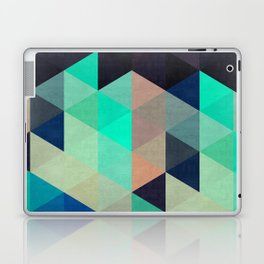 Colorful triangles composition I Laptop & iPad Skin