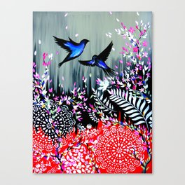 New Zealand Abstract Design Canvas Print