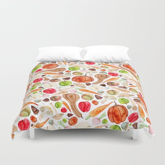 Fruit and Vegetables  Duvet Cover