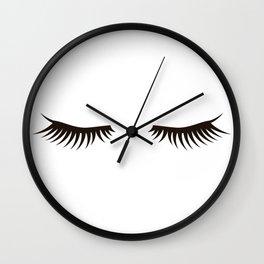 Eyelash Wall Clock