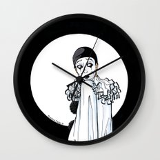 Pierrot Wall Clock