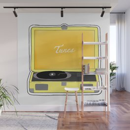 tunes Wall Mural