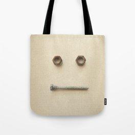 the Forgotten Workshop series- Bolt & Nut Tote Bag