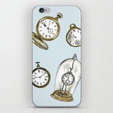 Clocks iPhone & iPod Skin