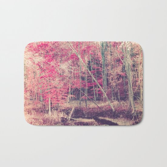 Rasberry Bath Mat