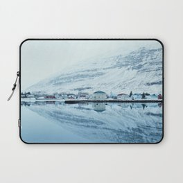 Houses by the water reflect Laptop Sleeve