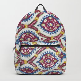 Floral Fabric Vintage Material Backpack