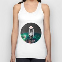 alone Tank Tops featuring Alone by Cs025