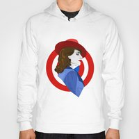 agent carter Hoodies featuring Agent Carter by fabulosaurus