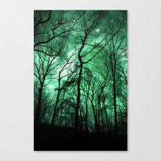 The Trees Reach Out at Night Canvas Print