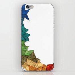 rainbow climb iPhone Skin
