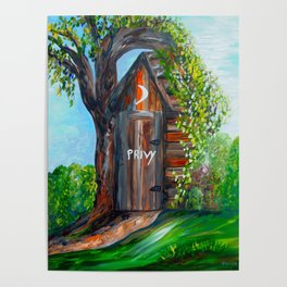 Outhouse - PRIVY Poster