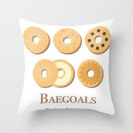 baegoals Throw Pillow