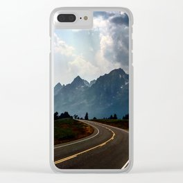 Grand Tetons Clear iPhone Case