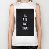eat Biker Tanks featuring Eat by I Love Decor