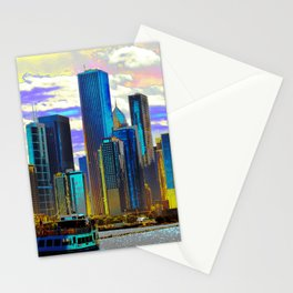City of Lies, 13  (嘘の都市13) Stationery Cards
